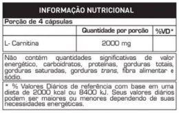 carnitina 2000 capsula